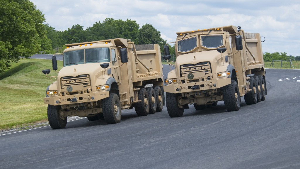 Mack Defense begins production of heavy dump trucks at new Mack Experience Centre