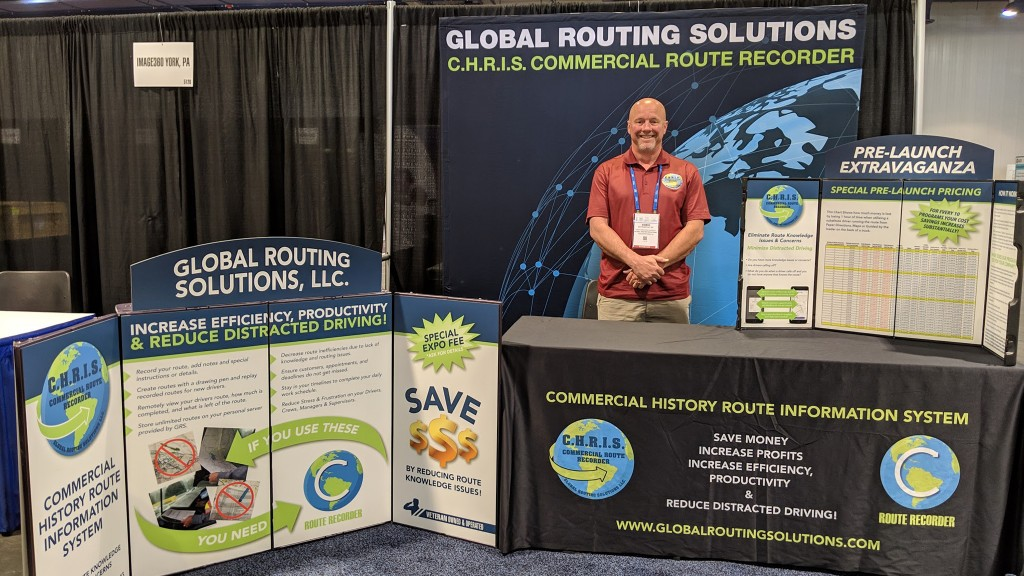 Chris Matesevac of Global Routing Solutions