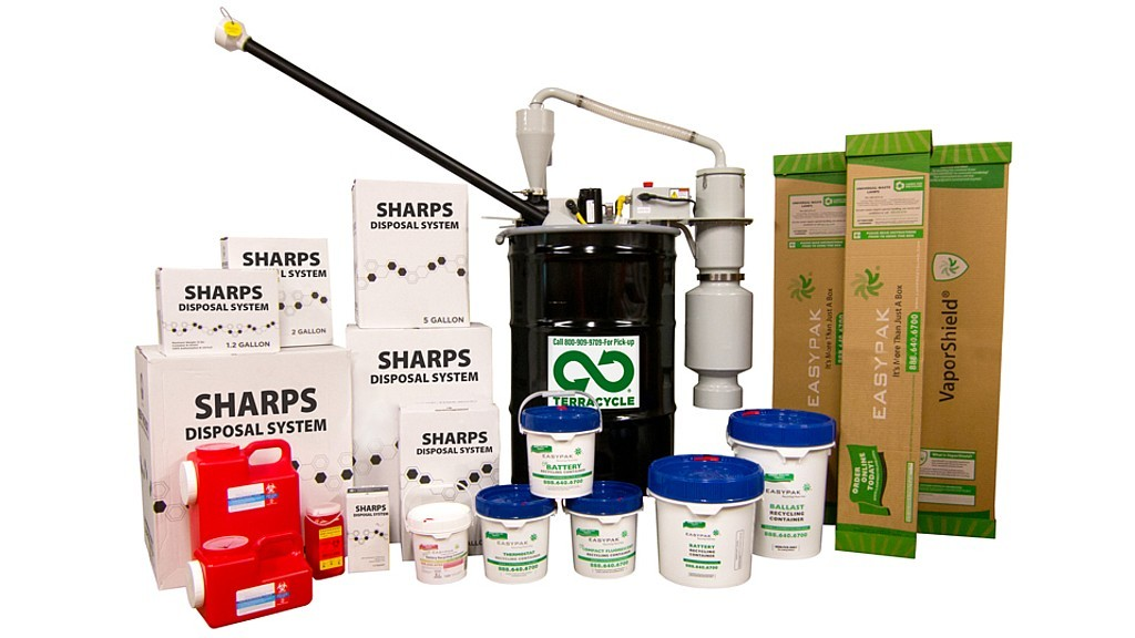 The TerraCycle Regulated Waste lineup