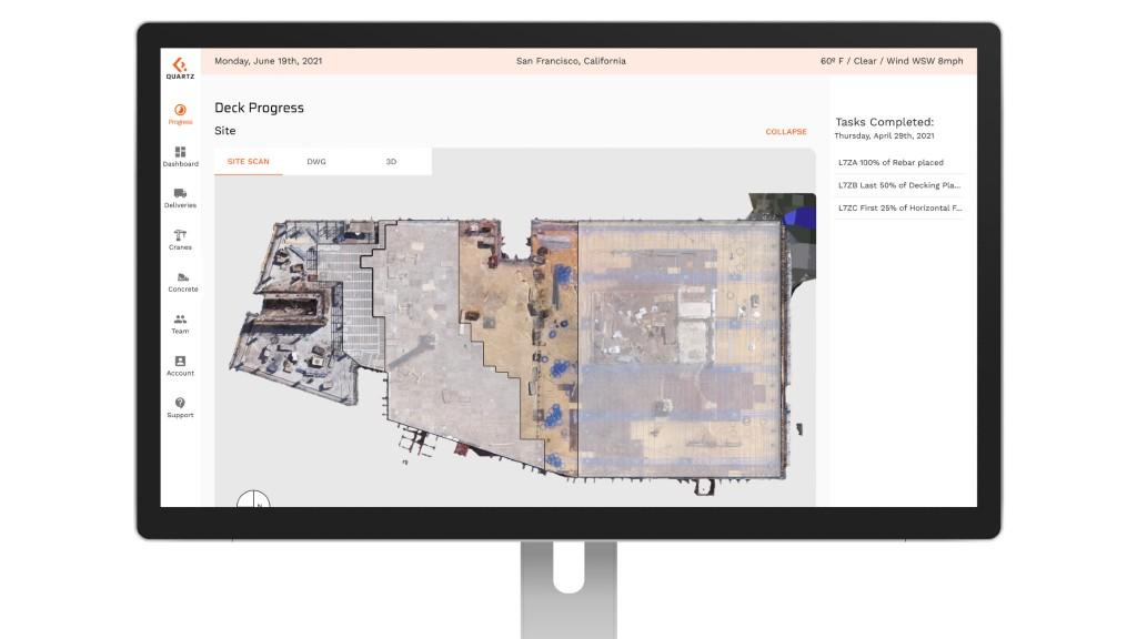The Quartz Systems site vision application