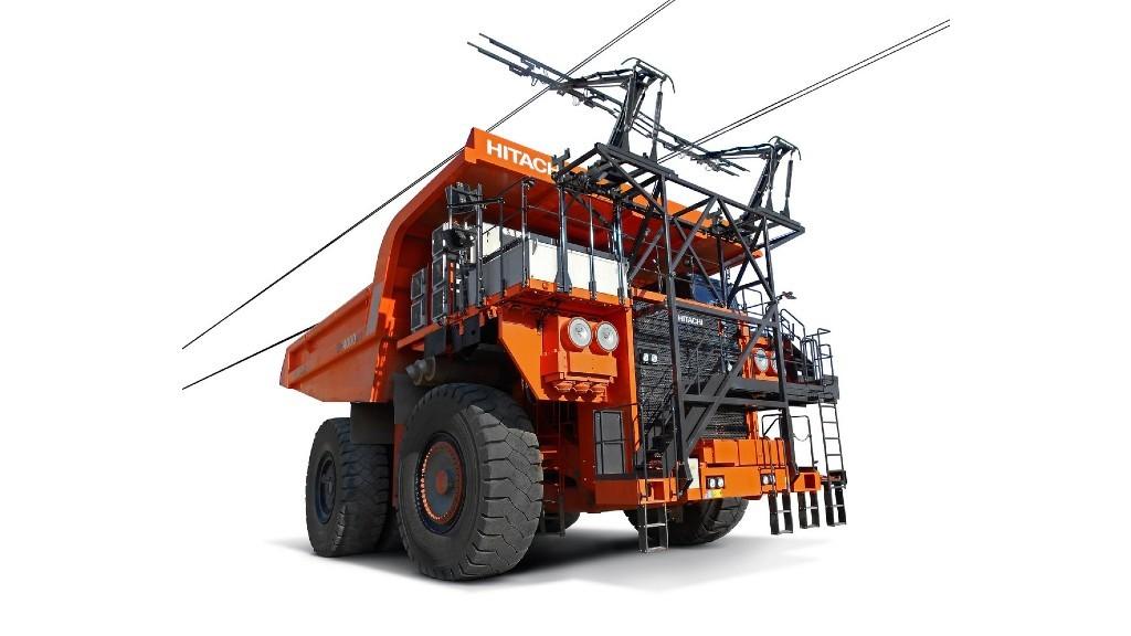 Hitachi Construction Machinery's EH4000AC-3 dump truck