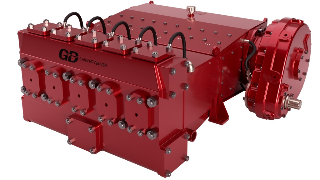 Gardner Denver launches new 1,000 GPM pump for horizontal directional drilling