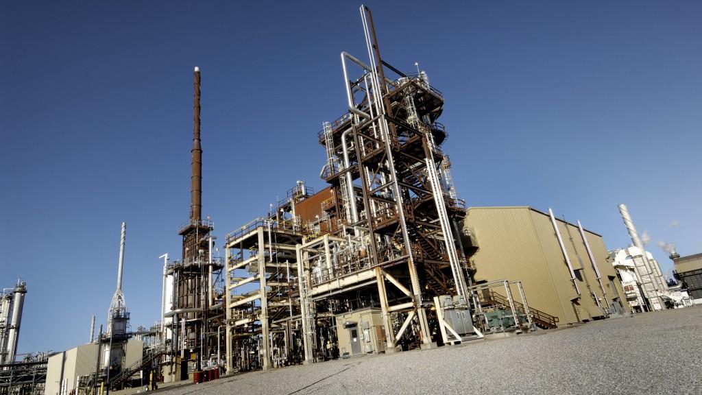 Shell scotford-refinery