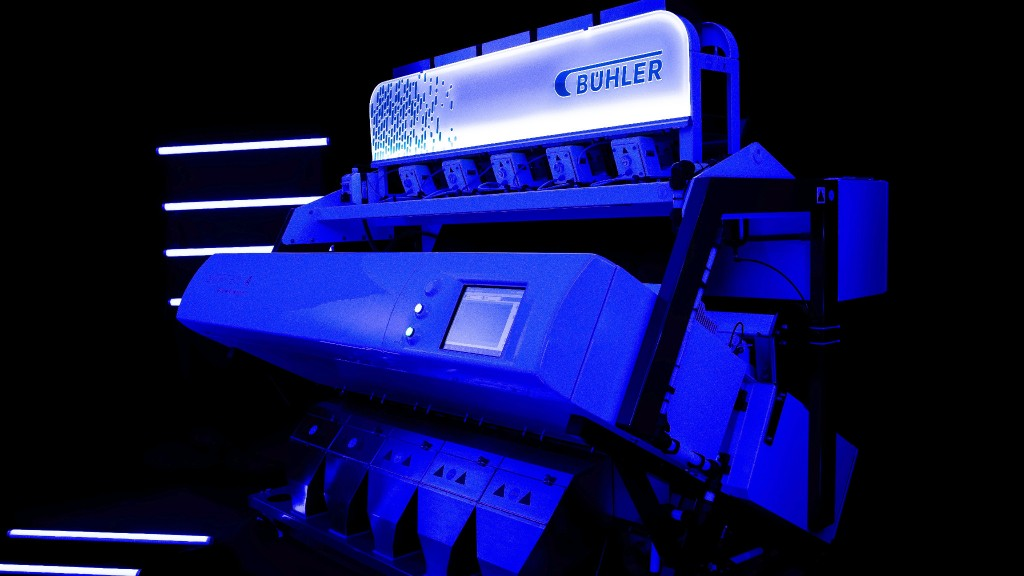 The GlowVision optical sorter