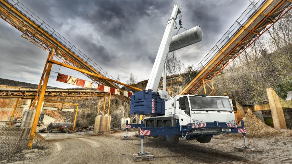 The AC4070 all terrain crane