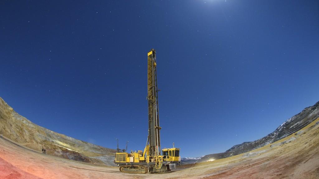 The Pit Viper 291 drill rig