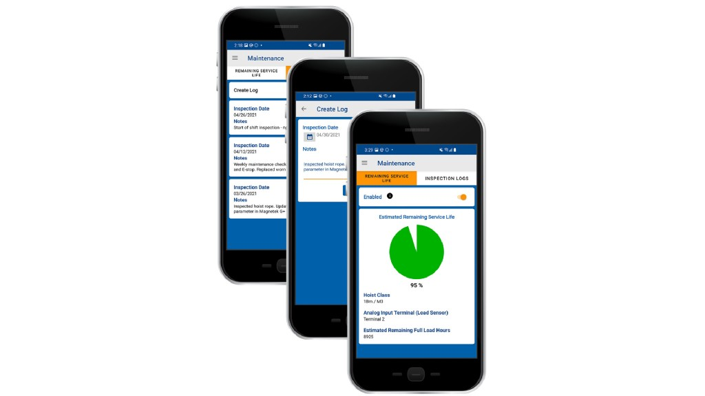 Columbus McKinnon expands remote hoist and crane monitoring capabilities with mobile app