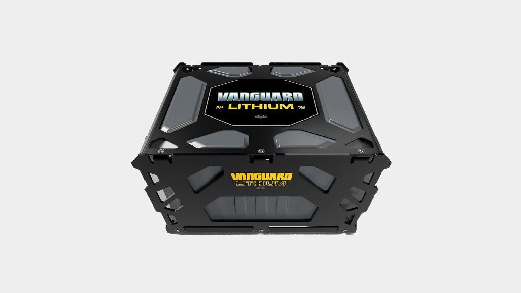 A Vanguard 10kWh lithium-ion battery