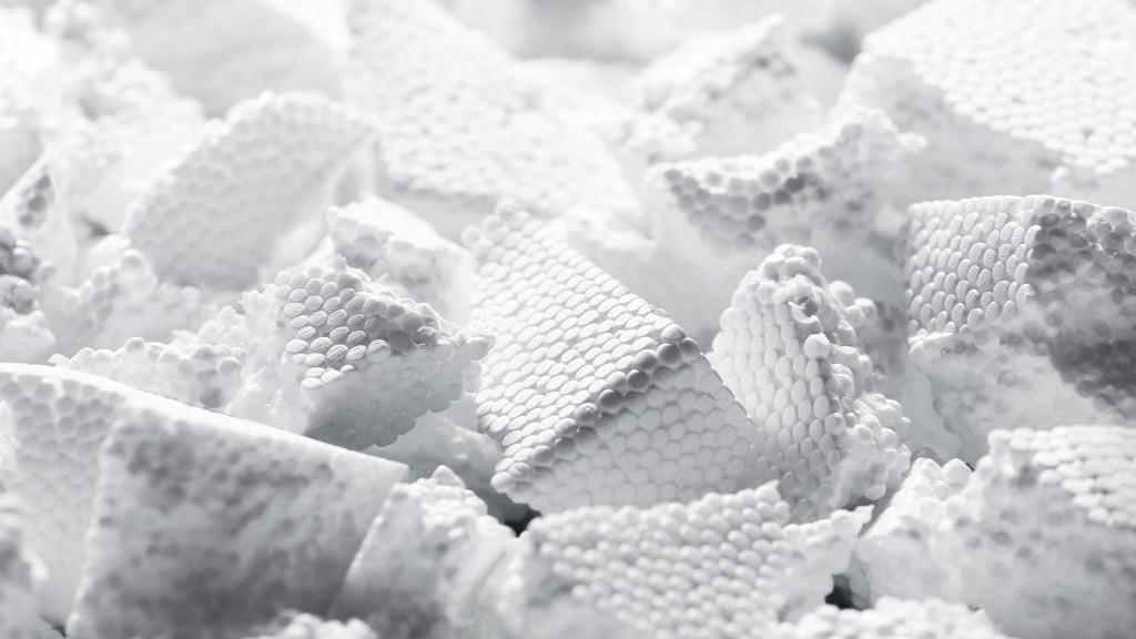 Brominated flame retardant-laden polystyrene