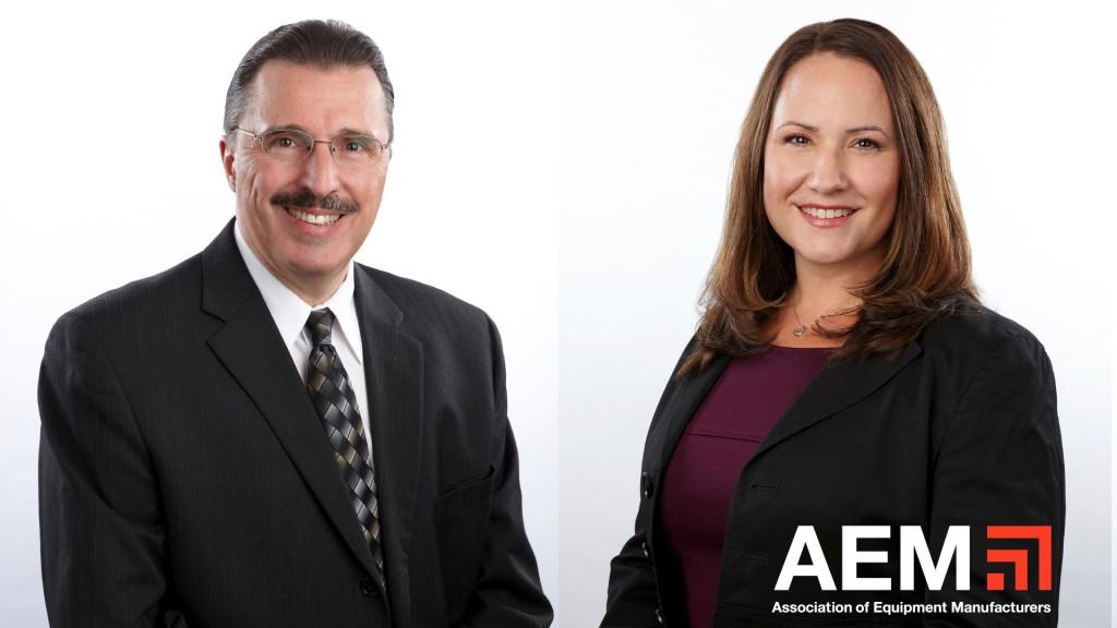 AEM's Dennis J. Slater and Megan Tanel