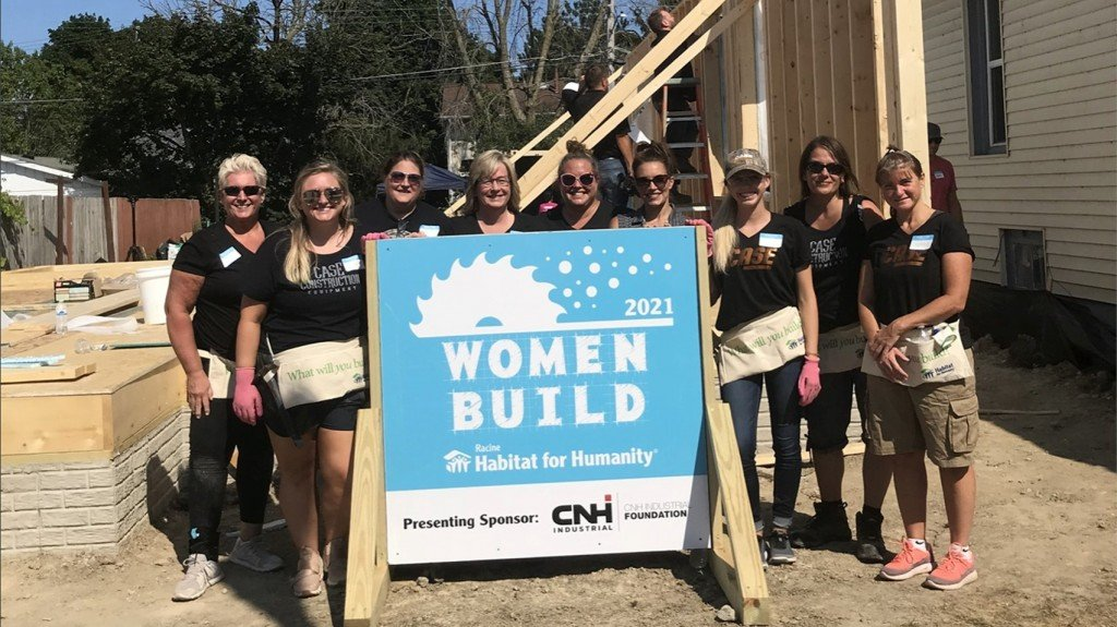 CASE and CNH Industrial employees will volunteer during the week of August 2 in support of a variety of construction projects.