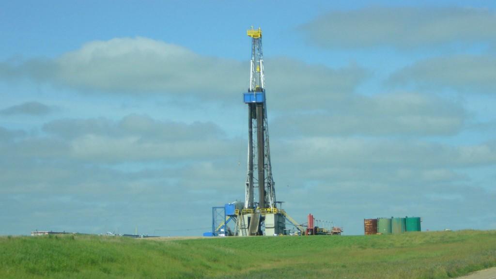 drilling rig in saskatchewan