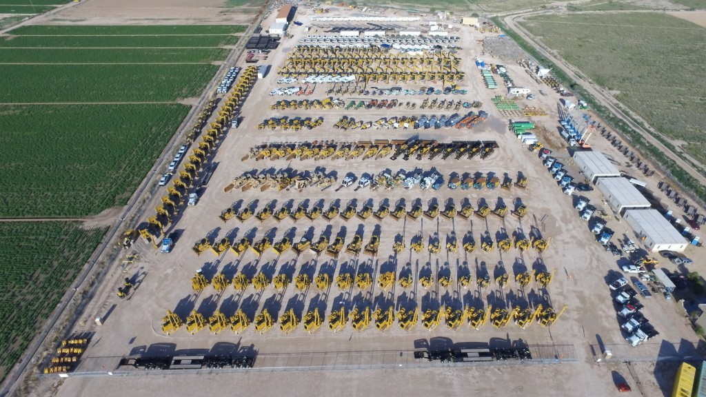 ritchie bros sells us 99 million of equipment from barilleaux