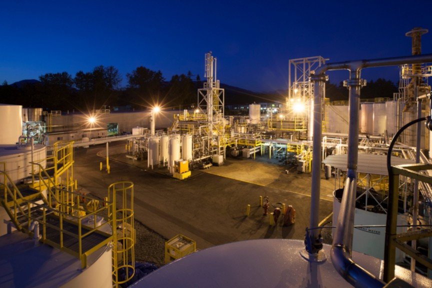Terrapure used oil recycling North Vancouver