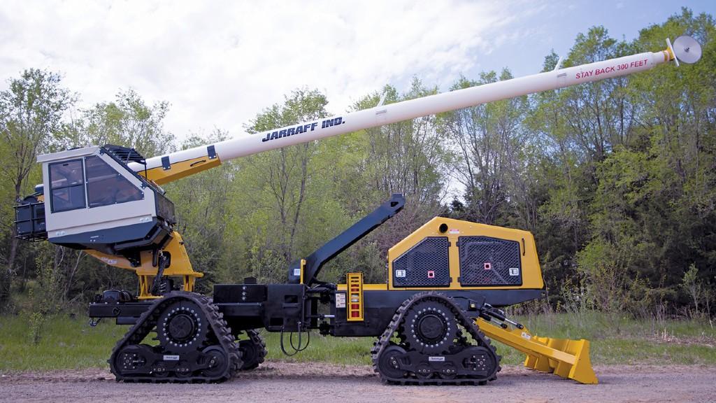 A Jarraff Industries all-terrain tree trimmer
