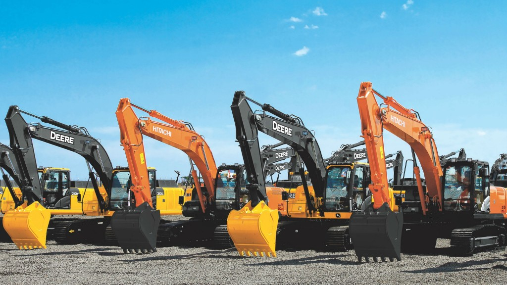 John Deere and Hitachi will no longer build and market excavators together after February 2022.