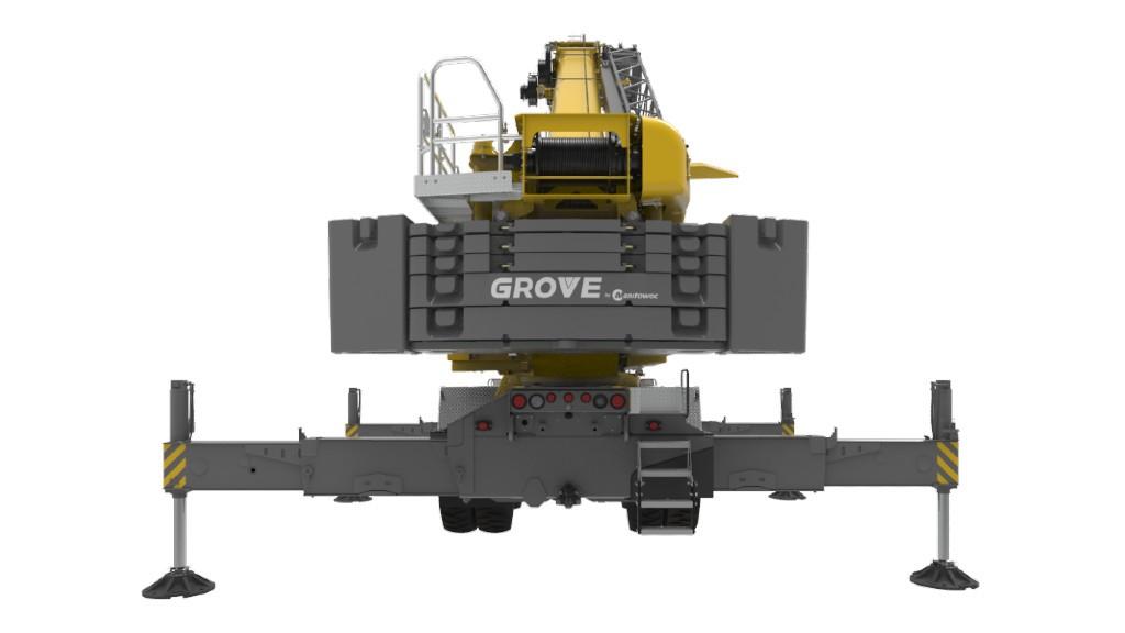 A Manitowoc Grove crane