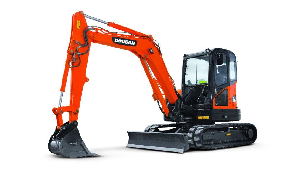 Doosan 62R-3 mini excavator