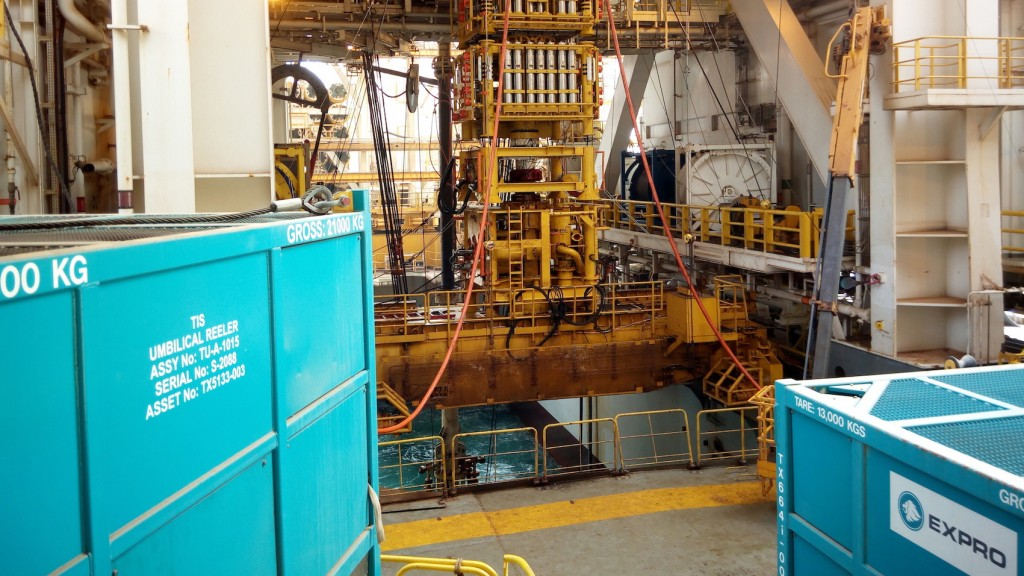 expro subsea well access intervention riser system in mauritania