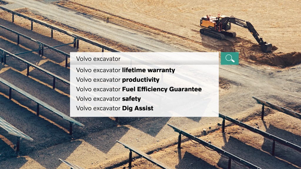 Volvo Excavators Make You More Money