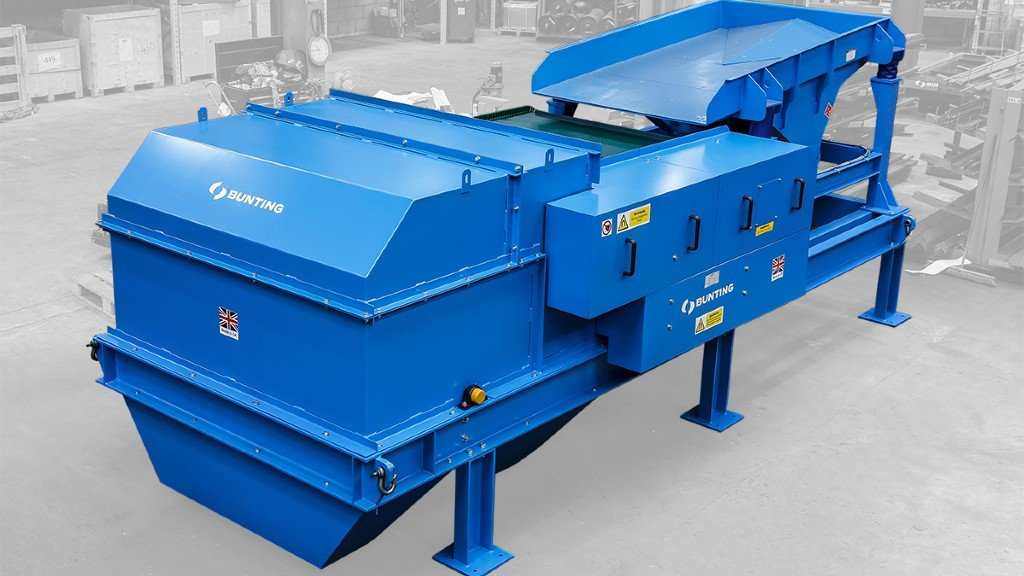 A Bunting eddy current separator