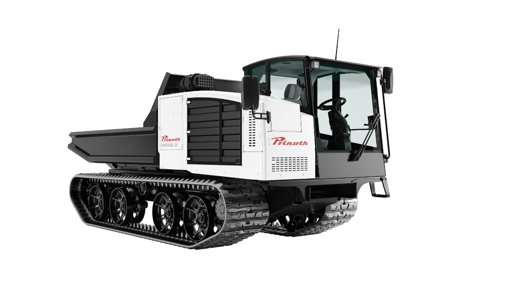 The updated Prinoth Panther T8
