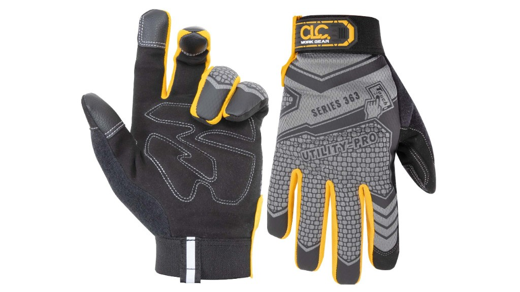 The front and back side of FlexGrip gloves