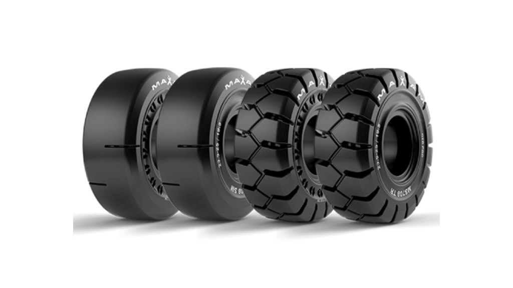 A lineup of MAXAM Tire tires
