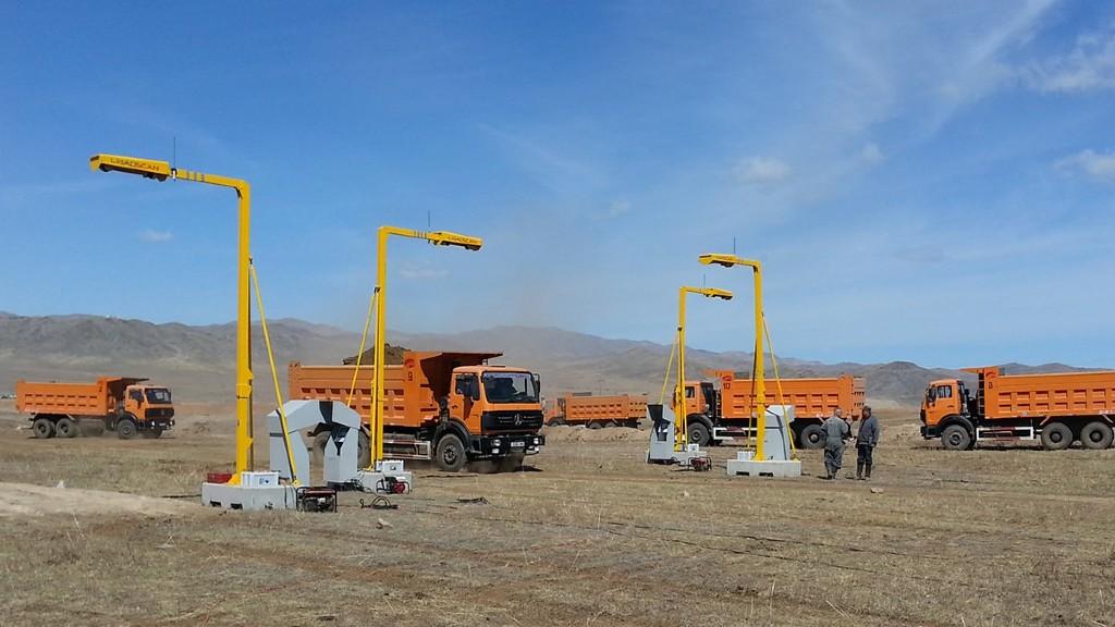 Loadscan payload scanners in Mongolia