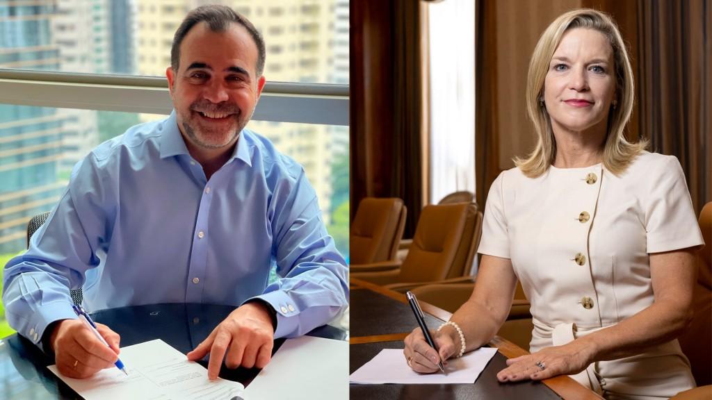 Rio Tinto's CCO and Caterpillar Group's president sign an MOU