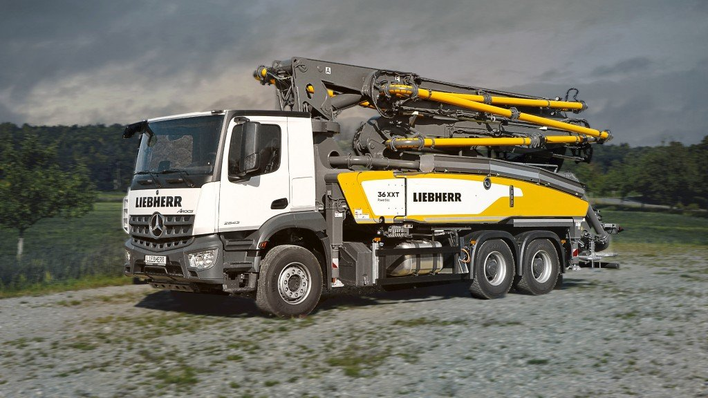 Liebherr releases compact and flexible truck-mounted concrete pump