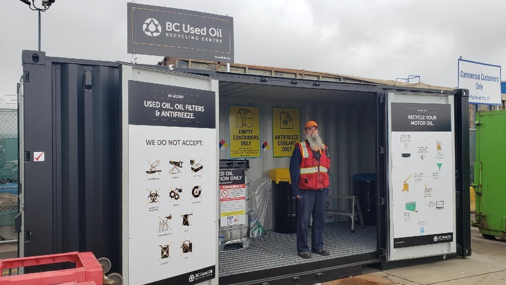 Recycling and Waste Centre adds sea-container based used oil recycling in North Vancouver