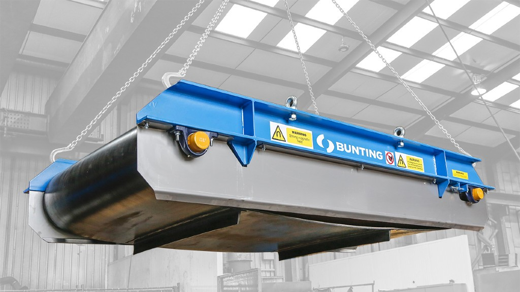 Bunting overband magnet.