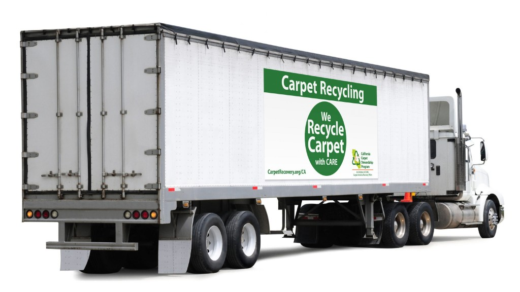 A CARE branded truck