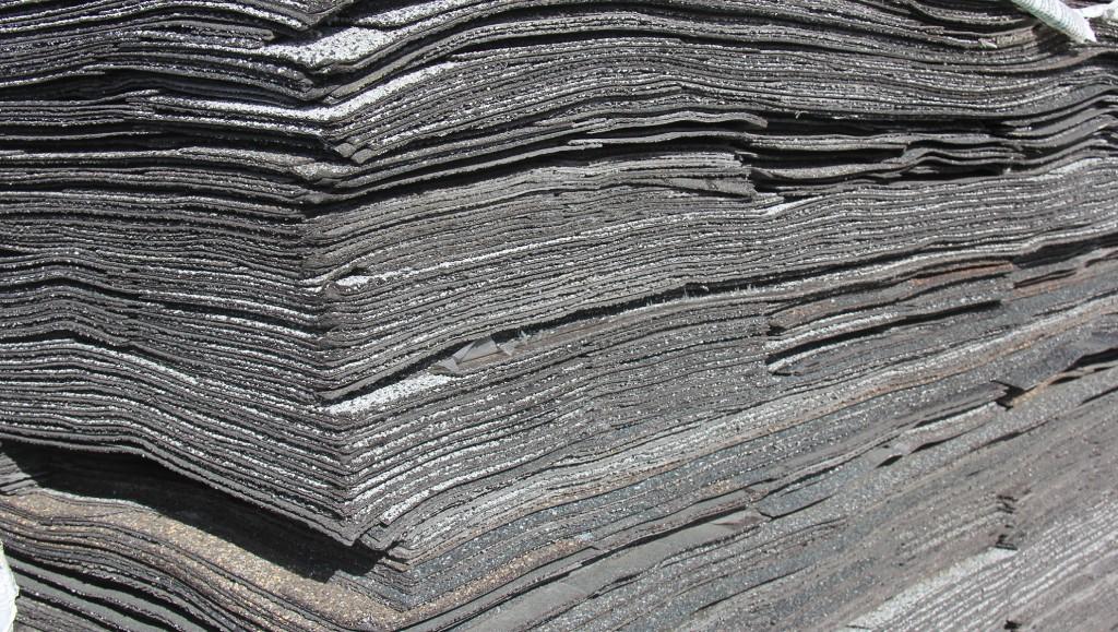 asphalt shingles for recycling
