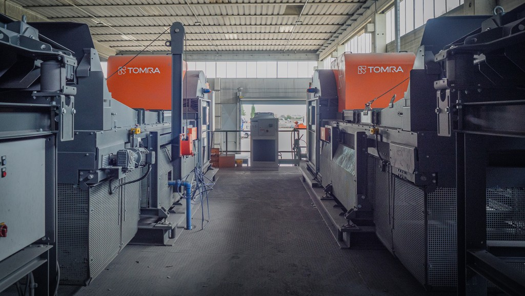 TOMRA sorting system at Centro Rottami, Italy