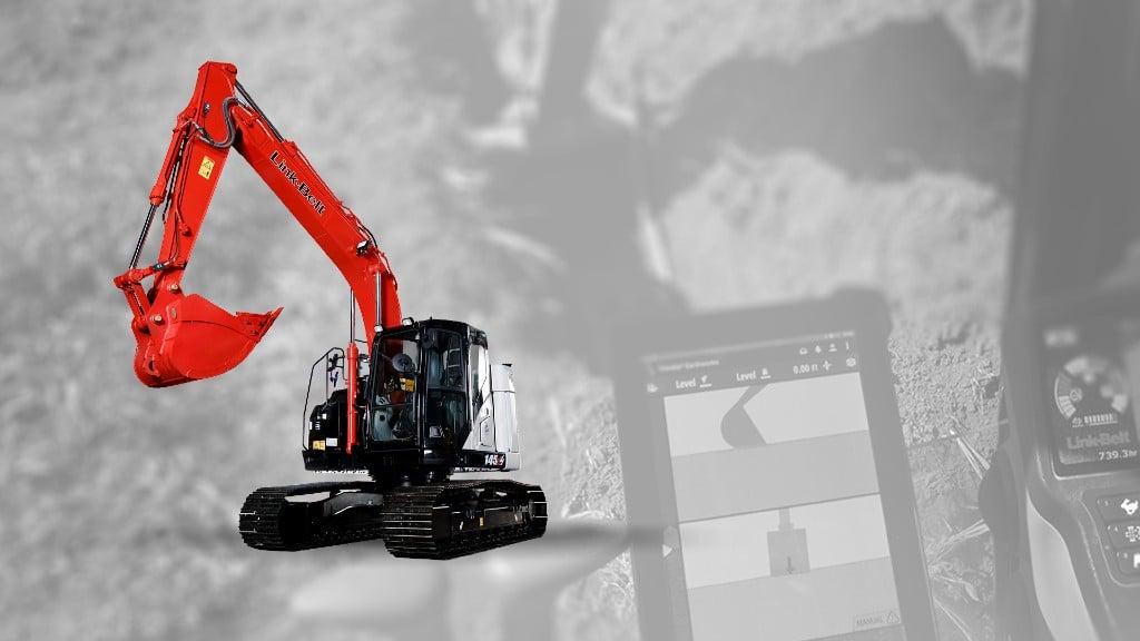 Link-Belt 145 X4 excavator