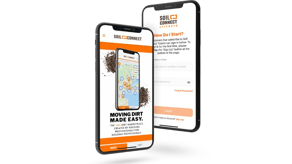 The Soil Connect phone app