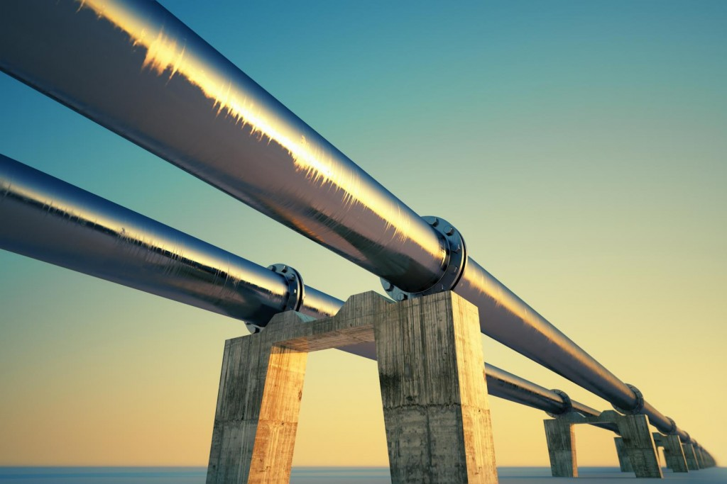 pipeline over water