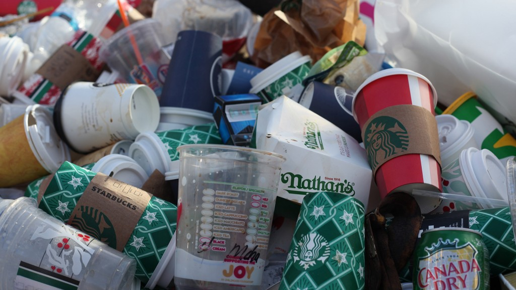 Consumer packaging waste