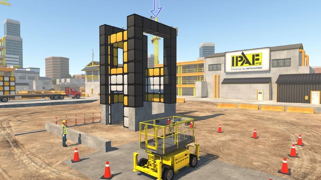 A simulated IPAF renewal test