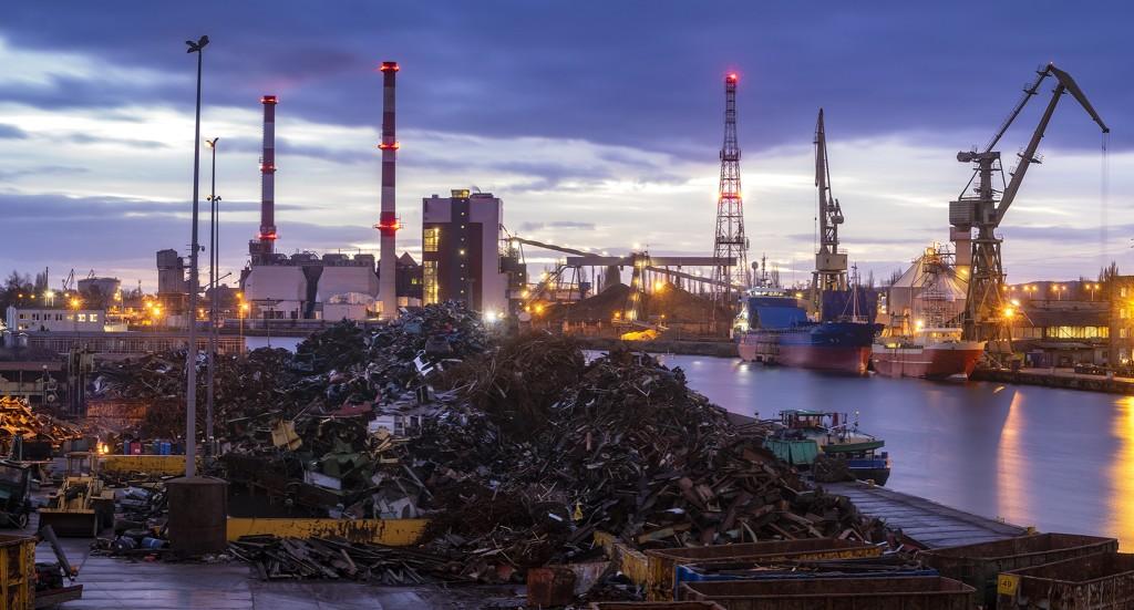 Global scrap port