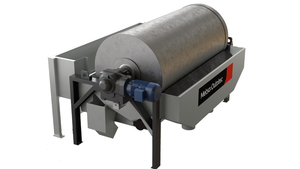 A magnetic separator