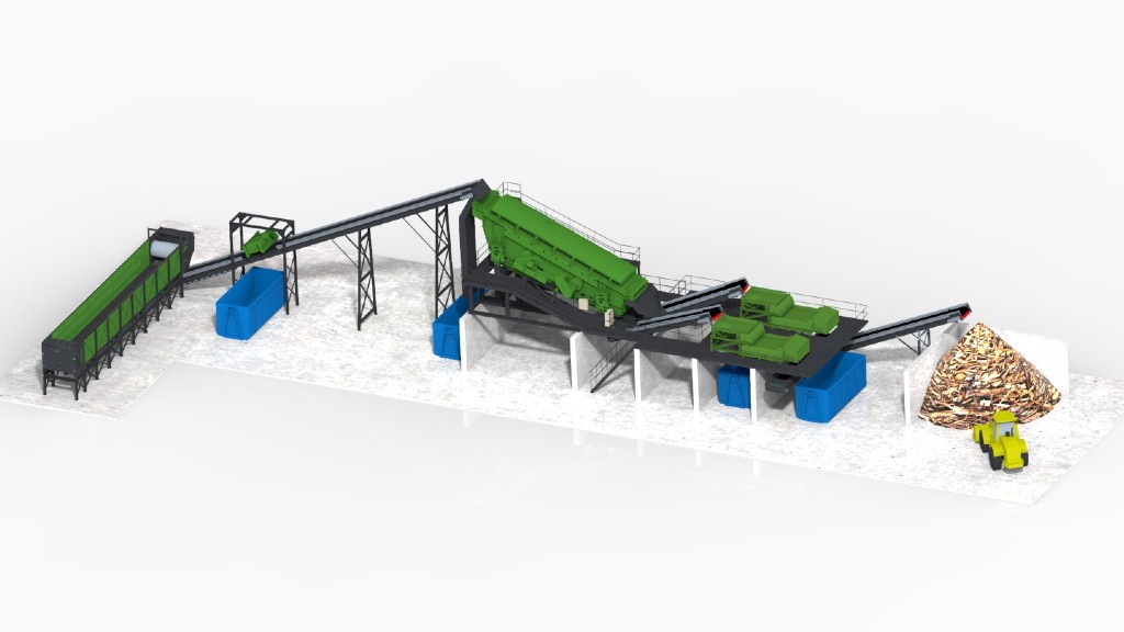 A Terex Recycling Systems design rendering