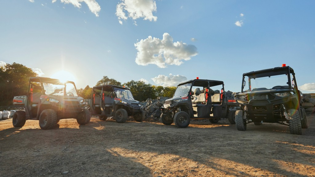 A Pro XD work utility vehicle lineup