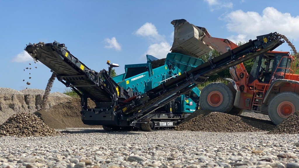 Powerscreen's new range of secondary scalping screens provide cost-effective solution in high-volume applications