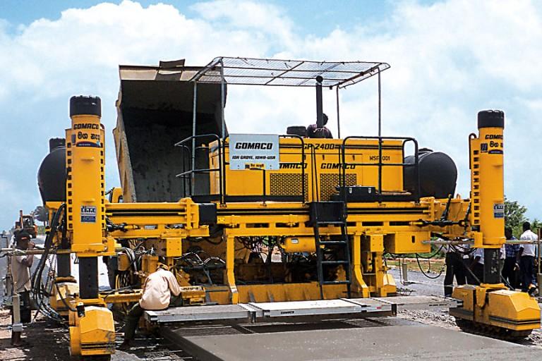 GOMACO - GP-2400 Concrete Pavers