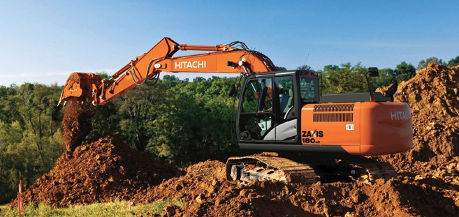 Hitachi Construction Machinery Co. - ZX180LC-5 Excavators