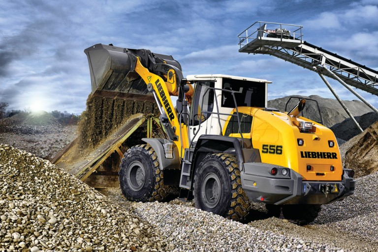 L 556 Wheel Loaders