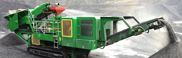 McCloskey International - V80 (VSI) Track Mounted Impact Crushers